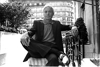 CHARLIE WATTS batteur des Rolling Stones<br /> <br /> 11 juin 1996 PARIS<br /> <br /> © ROSE/D ALLE