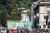 Team Bora-Hansgrohe at the start in Bergamo<br /> <br /> 114th Il Lombardia 2020 (1.UWT)<br /> 1 day race from Bergamo to Como (ITA/231km) <br /> <br /> ©kramon