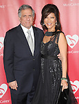 Les Moonves and Julie Chen at The MusiCares® 2013 Person Of The Year Tribute held at The Los Angeles Convention Center, West Hall in Los Angeles, California on February 08,2013                                                                   Copyright 2013 Hollywood Press Agency