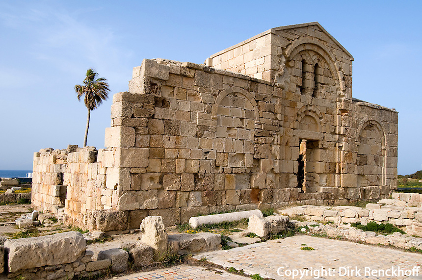 Nordzypern, Kirche Agios Filon (Philon) aus dem 11. Jahrhundert, Karpaz-Halbinsel (Karpasia)