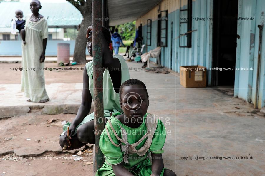 SOUTH SUDAN, Lakes State, hospital in village Mapuordit / SUED-SUDAN, Bahr el Ghazal regio , Lakes State, Mary Immaculate DOR Hospital der Comboni Missionare im Dinka Dorf Mapuordit