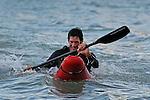 South Island Surf Ski Championship, 24 Feb, Nelson, 24/02/12  Photo: Shaun Bowie / Shuttersport