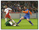 26th August 2000          Copyright Pic : James Stewart . File Name : stewart08-stirling v queens park              .ALBION'S CHRIS REID SAVES AT THE FEET OF GRAHAM CONNELL.......Payments to :-.James Stewart Photo Agency, Stewart House, Stewart Road, Falkirk. FK2 7AS      Vat Reg No. 607 6932 25.Office : 01324 630007        Mobile : 0421 416997.E-mail : JSpics@aol.com.If you require further information then contact Jim Stewart on any of the numbers above.........