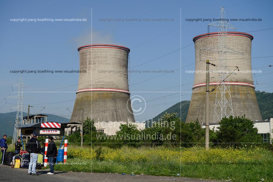 ROMANIA Transilvania, power station Mintia  / RUMAENIEN Transsilvanien Siebenbuergen, Mintia Kohle Kraftwerk
