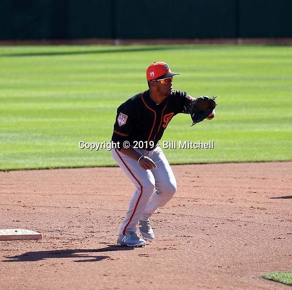 Abiatal Avelino - San Francisco Giants 2019 spring training (Bill Mitchell)