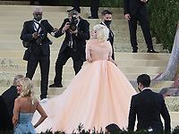 September 13, 2021.Billie Ellish attend The 2021 Met Gala Celebrating In America: A Lexicon Of Fashion at<br /> Metropolitan Museum of Art  in New York September 13, 2021 Credit:RW/MediaPunch