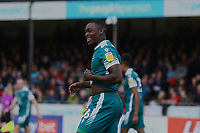 Isaac Olaofe of Sutton United during Crawley Town vs Sutton United, Sky Bet EFL League 2 Football at The People's Pension Stadium on 16th October 2021
