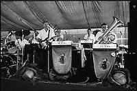 Europe/France/Alsace/67/Bas-Rhin/ Krautergersheim: L'orchestre lors de la Fête de la Choucroute