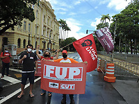 24/03/2021 - UNIDADES SINDICAIS PROTESTAM EM RECIFE