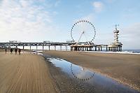 Nederland  Scheveningen 2016. Reuzenrad bij de Pier.   Foto Berlinda van Dam / Hollandse Hoogte