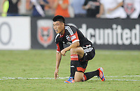 D.C. United forward Long Tan (27) D.C. United defeated The Chicago Fire 4-2 at RFK Stadium, Wednesday August 22, 2012.