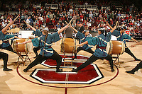 STANFORD, CA - FEBRUARY 8:  Taiko of the Stanford Cardinal during Stanford's 75-68 loss against the Washington Huskies on February 8, 2009 at Maples Pavilion in Stanford, California.
