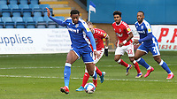 Zech Medley of Gillingham, on loan from Arsenal, in action during Gillingham vs Charlton Athletic, Sky Bet EFL League 1 Football at the MEMS Priestfield Stadium on 21st November 2020