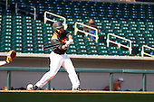 Corey Austin (11) of Westfield HS High School in Herndon, Virginia during the Under Armour All-American Pre-Season Tournament presented by Baseball Factory on January 14, 2017 at Sloan Park in Mesa, Arizona.  (Freek BouwMike Janes Photography)