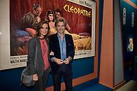 Guy LAGACHE, Emilie THEROND - Vernissage de l'exposition Goscinny - La Cinematheque francaise 02 octobre 2017 - Paris - France