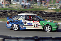 Round 10 of the 1991 British Touring Car Championship. #20 Grahame Davis (GB). Moto-Build. Rover 216GTi.
