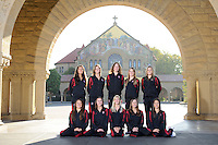 Stanford, Ca-Thursday, January 9, 2012: Stanford Women's Synchro Team Photos.