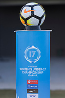 Bradenton, FL - Sunday, June 12, 2018: Nike game ball prior to a U-17 Women's Championship 3rd place match between Canada and Haiti at IMG Academy. Canada defeated Haiti 2-1.