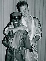 Grace Jones Dolph Lundgren 1985<br /> Photo By John Barrett-PHOTOlink.net / MediaPunch