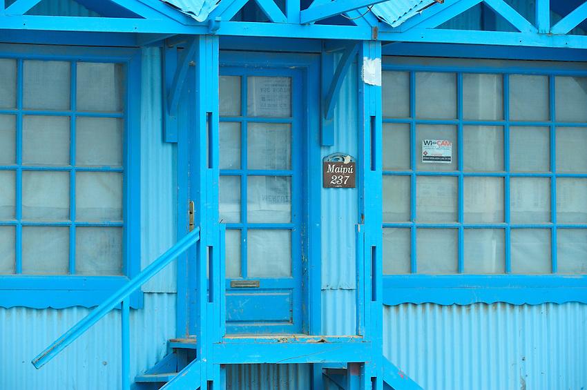 Ushuaia Street Scenes - The Blue House