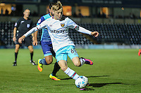 Dan Kemp of West Ham United U21s during the The Checkatrade Trophy match between Wycombe Wanderers and West Ham United U21 at Adams Park, High Wycombe, England on 4 October 2016. Photo by David Horn.