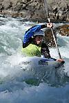 NZ Slalom Nationals on O'Sullivans Rapids Buller River 2012,  8 April 2012, Murchison, New Zealand<br /> Photo: Barry Whitnall/www.shuttersport.co.nz