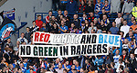 Rangers fans have the first of many protests at Ibrox this season