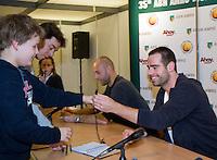 20-2-08, Netherlands, Rotterdam ABNAMROWTT 2008,  kids persconference sluiter wessels