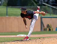 STANFORD, CA - JUNE 4: Brandt Pancer during a game between North Dakota State and Stanford Baseball at Sunken Diamond on June 4, 2021 in Stanford, California.