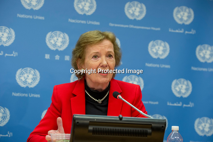 Noon Briefing by the Spokesperson for the Secretary-General<br /> Guests (to speak first):<br /> <br /> Representatives of the Elders including:<br /> <br /> §        Ms. Gro Harlem Brundtland, former Prime Minister of Norway and Deputy Chair of the Elders<br /> <br /> §        Mr. Lakhdar Brahimi, former Joint Arab League-UN Special Representative for Syria<br /> <br /> §        Ms. Mary Robinson, former President of Ireland and former High Commissioner for Human Rights.