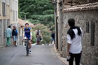James Knox (GBR/Deceuninck-QuickStep) at the stage start<br /> <br /> Stage 20: Arenas de San Pedro to Plataforma de Gredos (190km)<br /> La Vuelta 2019<br /> <br /> ©kramon