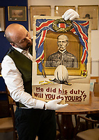 World War One army recruitment poster has emerged for sale