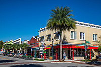 Shops in downtown Mount Dora.