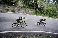 Brent Bookwalter (USA/Mitchelton-Scott) & Luke Durbridge (AUS/Mitchelton-Scott)<br /> <br /> Stage 8: Tortoreto Lido to Pesaro (239km)<br /> 102nd Giro d'Italia 2019<br /> <br /> ©kramon