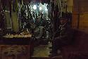 Iraq 2015 In the old souk of Koysanjak, a shoemaker in his shop<br /> Irak 2015  Dans le vieux souk de Koysanjak, un cordonnier fabricant les chaussures kurdes traditionnelles<br /> عیراق سالی 2015 , بازاری قه دیمی کوی سینژیک, که وش دروو پیلاوی کوردی ده دروود