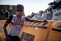 Marc Hirschi (SUI/UAE) post-race<br /> <br /> 17thBenelux Tour 2021 (2.UWT)<br /> (Final) Stage 7: from Namur to Geraardsbergen (178km)<br /> <br /> ©kramon