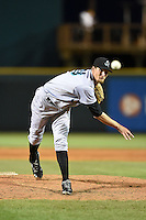 Jupiter Hammerheads pitcher Joseph O'Gara (38) delivers a pitch during a game against the Bradenton Marauders on April 19, 2014 at McKechnie Field in Bradenton, Florida.  Bradenton defeated Jupiter 4-0.  (Mike Janes/Four Seam Images)
