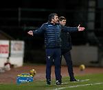 23.12.2020 St Johnstone v Rangers: St Johnstone manager Callum Davidson
