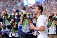 CEREMONIE - HOMMAGE - PRESENTATION DES NOUVELLES RECRUES DU PSG - 30 LIONEL LEO MESSI (PSG)<br /> Paris 14/08/2021 <br /> Paris Saint Germain vs Strasbourg <br /> Football Ligue 1 2021/2022<br /> Photo Philippe Lecoeur/Panoramic/insidefoto <br /> ITALY ONLY