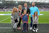 Pictured: Lee Trundle Sunday 30 August 2015<br /> Re: Premier League, Swansea v Manchester United at the Liberty Stadium, Swansea, UK