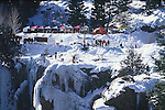 ICE CLIMBERS AT OURAY ICE FESTIVAL
