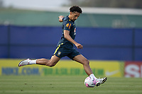 7th October 2020; Granja Comary, Teresopolis, Rio de Janeiro, Brazil; Qatar 2022 qualifiers; Marquinhos of Brazil during training session