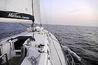 - sailing boat in navigation<br /> <br /> - barca a vela in navigazione