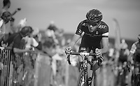 Richard Handley (GBR) up Haytor<br /> <br /> 2013 Tour of Britain<br /> stage 6: Sidmouth to Haytor (Dartmorr): 137km