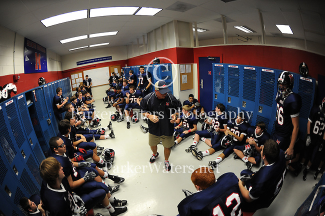 St. Martin's Episcopal defeats Crescent City Baptist 21-7.  A behind the scenes look at pre-game and post-game meetings as well as the game itself.