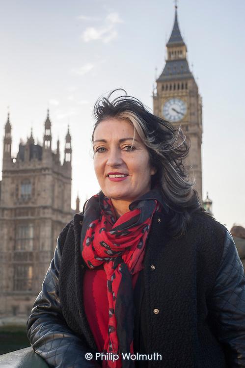 Yvonne McNamara, Traveller Movement CEO, Westminster, London.