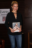 """LOS ANGELES, CA - JANUARY 16: Cameron Diaz signs copies of her new book """"The Body Book"""" at Barnes & Noble at The Grove on January 16, 2014 in Los Angeles, California. (Photo by Xavier Collin/Celebrity Monitor)"""