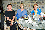 Enjoying the evening in Bella Bia on Thursday, l to r: Carol Doyle, Bernice Lawlor and Liz Furlong.