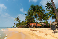 Private beach on Long Beach, Phu Quoc