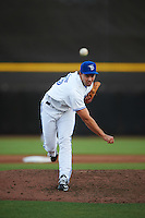 Dunedin Blue Jays relief pitcher Tom Robson (35) delivers a pitch during a game against the Palm Beach Cardinals on April 15, 2016 at Florida Auto Exchange Stadium in Dunedin, Florida.  Dunedin defeated Palm Beach 8-7 in ten innings.  (Mike Janes/Four Seam Images)
